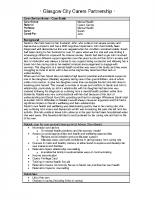 Carers Case Study 3