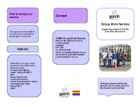 Group Opportunities Leaflet