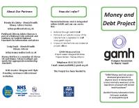 Money and Debt Leaflet