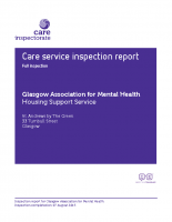 Care Inspectorate Inspection Report 2015