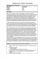 Carers Case study 4