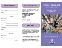 Carers Leaflet